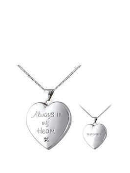 keepsafe-keepsafe-personalised-always-in-my-heart-sterling-silver-diamond-set-message-locket