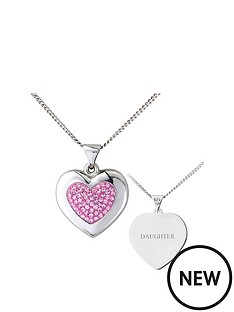 keepsafe-keepsafe-sterling-silver-pink-crystal-personalised-pendant