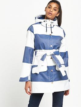 Helly Hansen Lyness Striped Jacket  BlueWhite