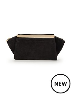 phase-eight-ella-suede-clutch-bag