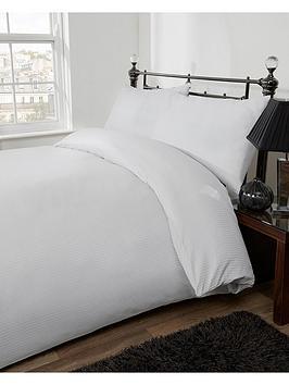 silentnight-300-thread-count-satin-stripe-king-size-duvet-cover-set