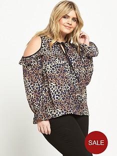 so-fabulous-curve-keyhole-cold-shoulder-blouse