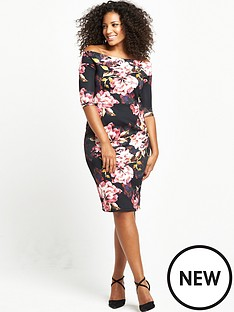 so-fabulous-curve-scuba-midi-dress