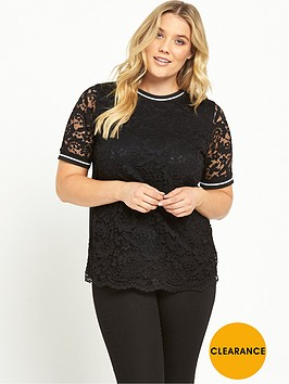 v-by-very-curve-curve-rib-trim-lace-t-shirt-black