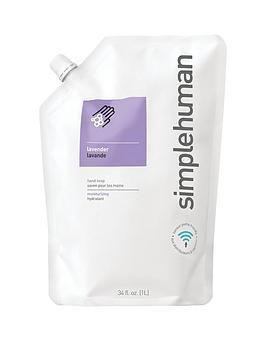 simplehuman-1-litre-hand-soap-refill-ndash-lavender