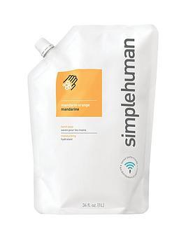 simplehuman-1-litre-hand-soap-refill-ndash-mandarin-orange