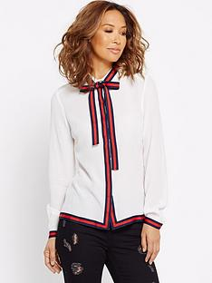 myleene-klass-tape-trim-button-blouse