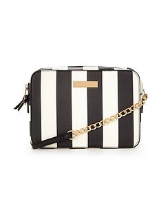 v-by-very-mini-structured-mono-stripe-crossbody