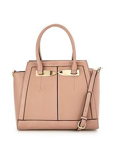 v-by-very-twist-front-metal-detail-tote-bag