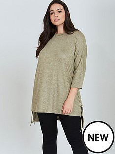 girls-on-film-curve-gold-knit