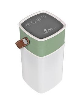 Lava Brightsounds 2 Portable Bluetooth Wireless Speaker Lamp  Gold