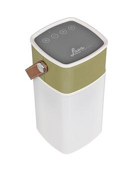 Lava Brightsounds 2 Portable Bluetooth Wireless Speaker Lamp  Green