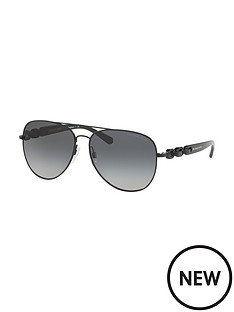 michael-kors-aviator-chain-arm-sunglasses
