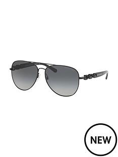 michael-kors-aviator-chain-arm-sunglasses