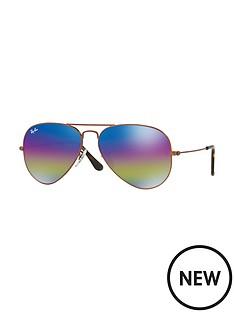 ray-ban-rainbow-lense-aviator-sunglasses