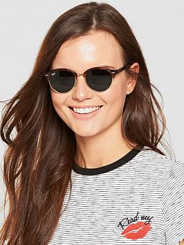 93807baf5e9a Ray-Ban Clubround Sunglasses | littlewoods.com