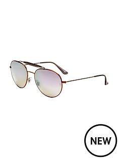 ray-ban-outdoorsman-flash-lense-sunglasses