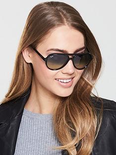 ray-ban-cats-5000-pilot-sunglasses--nbspblack