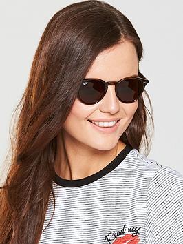 Ray-Ban Ray-Ban Round Sunglasses - Tortoiseshell Picture