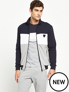 antony-morato-colour-block-zip-through-hood