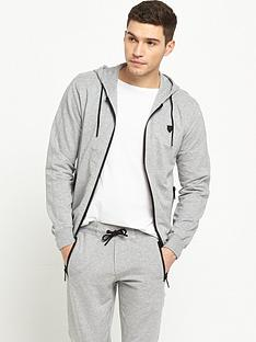 antony-morato-badge-zip-through-hood