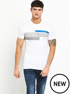 antony-morato-writing-tshirt