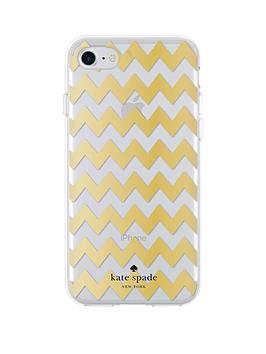 kate-spade-new-york-new-york-chevron-protective-hardshell-case-for-iphone-7-gold-foilclear-glitter