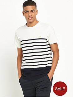farah-hampstead-textured-stripe-t-shirt