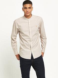 farah-pattenson-long-sleeve-grandad-shirt