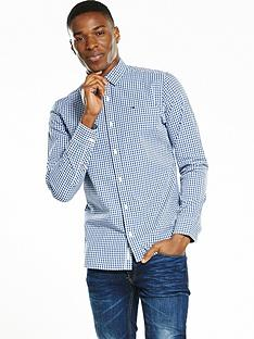 hilfiger-denim-gingham-checked-long-sleeve-shirt