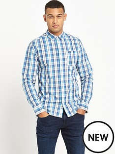 hilfiger-denim-checked-long-sleeve-shirt