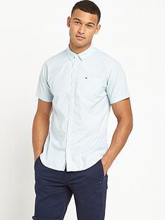 hilfiger-denim-one-pocket-short-sleeve-shirt