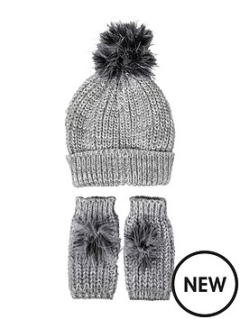 river-island-girls-pom-pomnbspbeanie-and-handwarmers-set