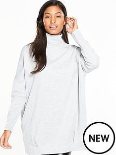 v-by-very-scuba-sweat-high-neck-oversized-tunic