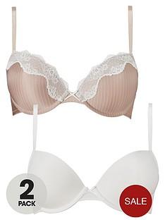 dorina-bianca-push-up-bra-2-pack-blush-stripeivory
