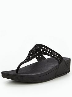 fitflop-carmeltrade-toe-post-sandal-black
