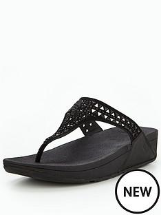 fitflop-carmeltrade-toe-post-sandal-black