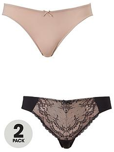 dorina-chloe-briefs-2-pack-blackblush