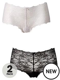 dorina-laylanbsp2-pack-lace-brief-whiteblack