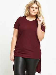 so-fabulous-curve-button-detail-jersey-tunic
