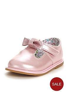 ladybird-mila-baby-girls-bow-shoes