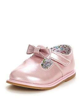 Ladybird Mila Baby Girls Bow Shoes