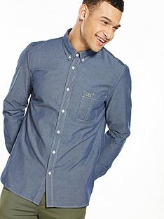 lacoste-sportswear-long-sleeve-chambray-shirt