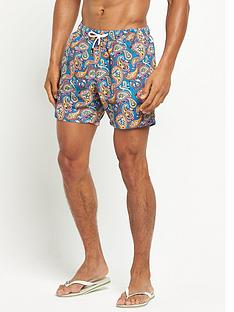 pretty-green-paisley-swim-shorts