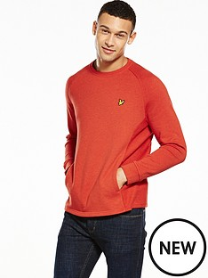 lyle-scott-crew-neck-seam-pocket-sweatshirt