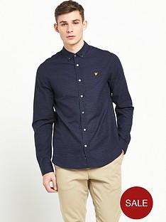 lyle-scott-long-sleeve-multicoloured-stitch-shirt