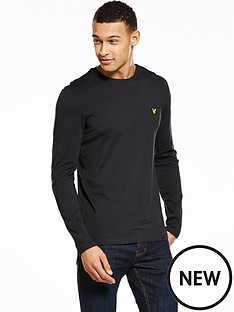 lyle-scott-long-sleeve-t-shirt
