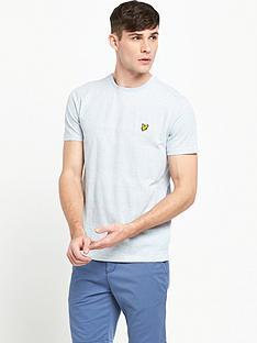 lyle-scott-textured-yoke-detail-t-shirt