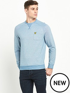 lyle-scott-oxford-crew-neck-sweatshirt