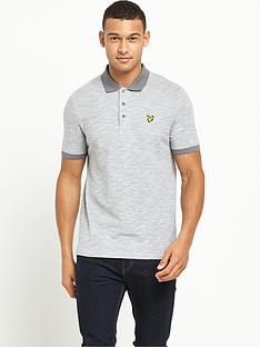 lyle-scott-oxford-slub-polo-shirt